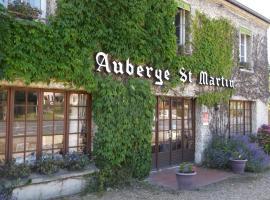 Auberge Saint Martin, Сюрвиль (рядом с городом Пон-л'Эвек)