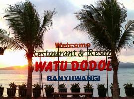 Watu Dodol Hotel & Restaurant, Баньюванги (рядом с городом Sebani)