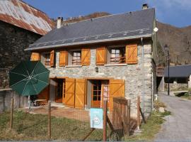 Pyrenees Stone Mountain House, Баньер-де-Люшон (рядом с городом Garin)