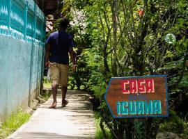 Casa De La Iguana Hostel, Lívingston (рядом с городом Quehueche)