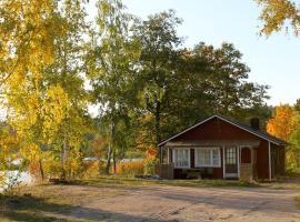 Stenholmen seaside rental, Västlax (рядом с городом Skata)