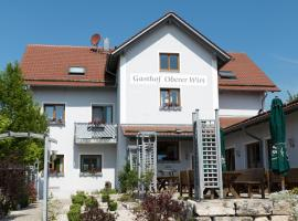 Gasthof Oberer Wirt, Kipfenberg (Kinding yakınında)