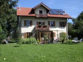 Ferienwohnung am Seidlpark, Murnau am Staffelsee (Ohlstadt yakınında)