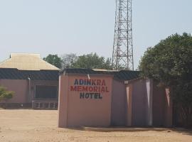 Adinkra Memorial Hotel, Japekrom (Regiooni Dormaa lähedal)