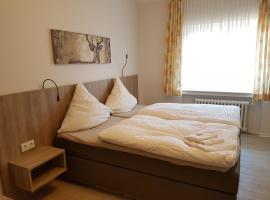 Hotel Pension Haus Pooth, Wesel (Mehrhoog yakınında)