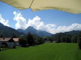 Ferienwohnung Eder, Oberaudorf (Erl yakınında)