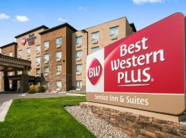 Best Western Plus Service Inn & Suites, Lethbridge (Coaldale yakınında)
