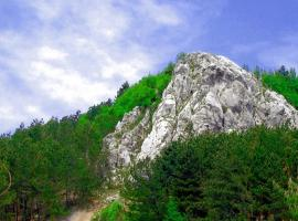 Robinson Nature Park Ucka, Dolenja Vas (рядом с городом Lupoglav)