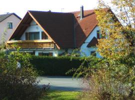 Ferienwohnung Schütz, Hirschaid (Hallerndorf yakınında)