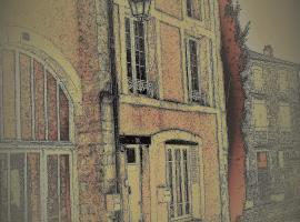 La Vieille Maison Rose, Nanteuil-en-Vallée (рядом с городом Champagne-Mouton)