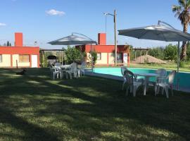 Cabañas La Antonia, Tupungato (Estancia La Pampa yakınında)