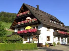 Haus Klumpp, Baiersbronn (Harlisberg yakınında)