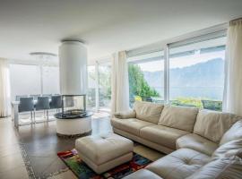 Villa, Montreux (Le Châtelard yakınında)