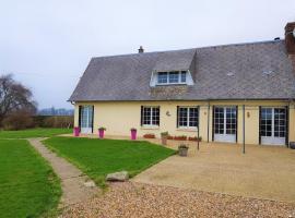 Maison Calme Et Agreable, Sassetot-le-Malgardé (рядом с городом Berville)