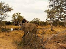 Omogolo Bush Lodges - Motswiri Lodge, Rammu (Tlokhoetonnas yakınında)