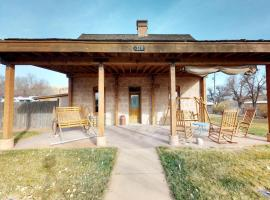 Jens Nielsen House in Bluff Utah