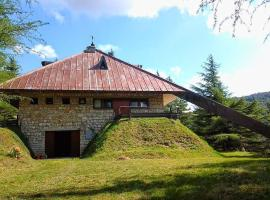Fonte dell'Aria, Taverne (Serravalle di Chienti yakınında)