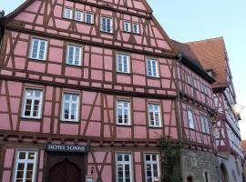 Gästehaus zur Sonne, Bad Wimpfen (Bad Friedrichshall yakınında)