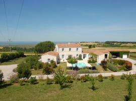 Sunset Cottage, Mortagne-sur-Gironde (рядом с городом Бутенак)