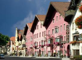 Hotel Krone, Matrei am Brenner (Mühlbachl yakınında)