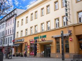 Hotel Slavie, Cheb (Všeboř yakınında)