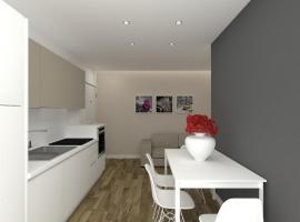 Piccolo Moderno Appartamento sulla Spiaggia in Centro