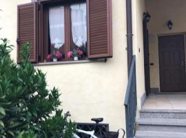 Una villa lungo la via Francigena, Isola Farnese