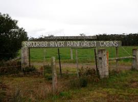 Brodribb River Rainforest Cabins - Cabin 2, Marlo (Orbost yakınında)