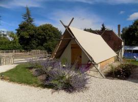 La Tente du Chercheur d'Or, La Coudre (рядом с городом Les Croutes)