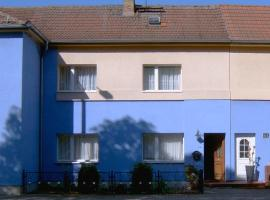 Ferienwohnung Blaues Haus, Luckenwalde (Berkenbrück yakınında)