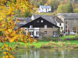 La Petite Passerelle à Mouzaive, Vresse-sur-Semois (Mouzaive yakınında)