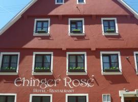 Hotel Ehinger Rose, Ehingen (Ersingen yakınında)