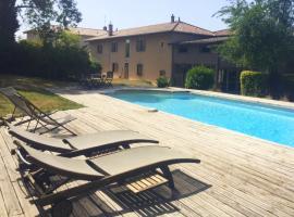 La Grange de la Batone - Bed and Breakfast, Messimy (рядом с городом Montmerle Sur Saône)