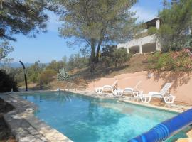 Maison avec piscine sans vis-à-vis au cœur de la garrigue, Pierrerue (рядом с городом Saint-Chinian)