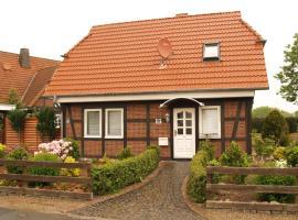 Gemütliches Ferien-Fachwerkhaus Nähe A2, Braunschweig, Horst (Adenbüttel yakınında)