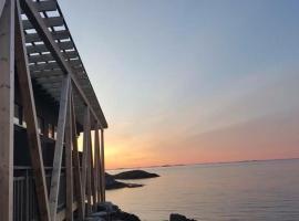 Værlandet Havhotell, Hamna