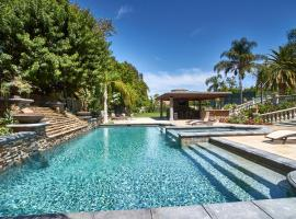 Gated Estate with Pool, Spa, Tennis Court, 15 Minutes from Disneyland, Anaheim