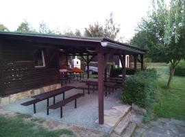 Areál sportovního klubu Rozkošní piráti, Velká Jesenice (Česká Skalice yakınında)