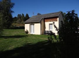 Les Gentianes, Chaudes-Aigues (рядом с городом Fournels)