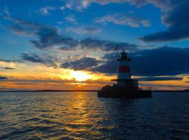 Borden Flats Lighthouse, Somerset
