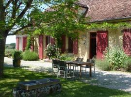 Chambres d'Hôtes du Domaine de Bellevue Cottage, Ламбра (рядом с городом Queyssac)