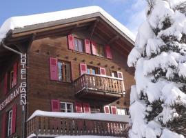 Hotel les Touristes, Verbier
