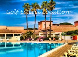 Golf Esterel Location