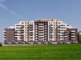 Apartment Views Barrandov, Prag (Holyně yakınında)