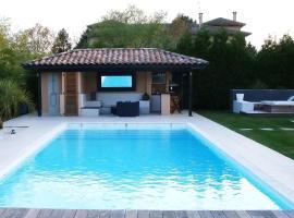 Villa Piscine &Spa 15kmToulouse, Lapeyrouse-Fossat (рядом с городом Руфьяк-Толозан)