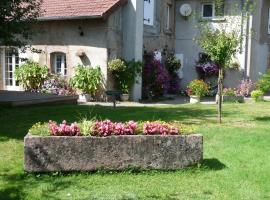 Chambres d'Hôtes Le Clos Fleuri, Champagney (рядом с городом Роншан)