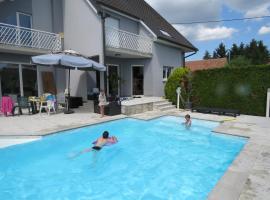 A l'Orée du Kastenwald piscine spa et sauna, Widensolen (рядом с городом Urschenheim)
