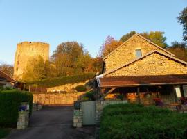 Le Cottage du Château, Chaudenay-le-Château (рядом с городом Châteauneuf)