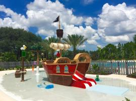 Five Bedroom w/ Pool Close to Disney Festival 302