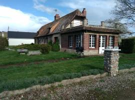 Maison normande, Beaumont-le-Roger (рядом с городом Menneval)